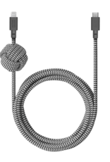 Native Union Native Union | Night Cable USB C to Lightning Zebra BELT CABLE-KV-C-LIGHTNING-ZEBRA-3M