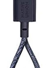 Native Union /// Native Union | Key Cable Lightning Indigo | KEY-KV-L-IND