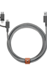 Native Union /// Native Union | Belt Universal Cable V2 BELT-KV-ULC-ZEB-V2