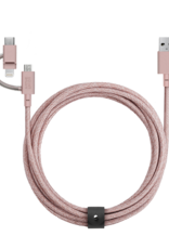 Native Union /// Native Union | Belt Universal Cable Rose 107-1546