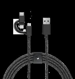 Native Union /// Native Union   Belt Universal Cable Cosmos   BELT-KV-ULC-CS-BLK