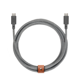 Native Union /// Native Union | Belt Cable USB-C - Zebra | BELT-KV-C-ZEB
