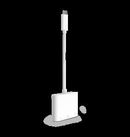 Logiix LOGiiX | Piston Connect 4K USB-C to HDMI Adapter w/ HDR - White | LGX-12741