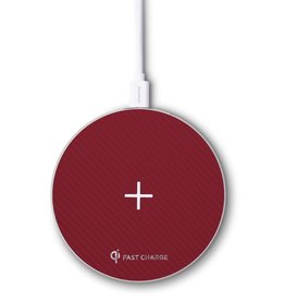 Stealth Aircraft Aluminium Wireless Fast Charger- Ruby Red RS-ST900-RD