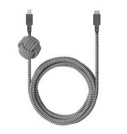 Native Union Native Union | Night Cable USB C to Lightning Cable Zebra 10FT NCABLE-KV-CL-ZEB
