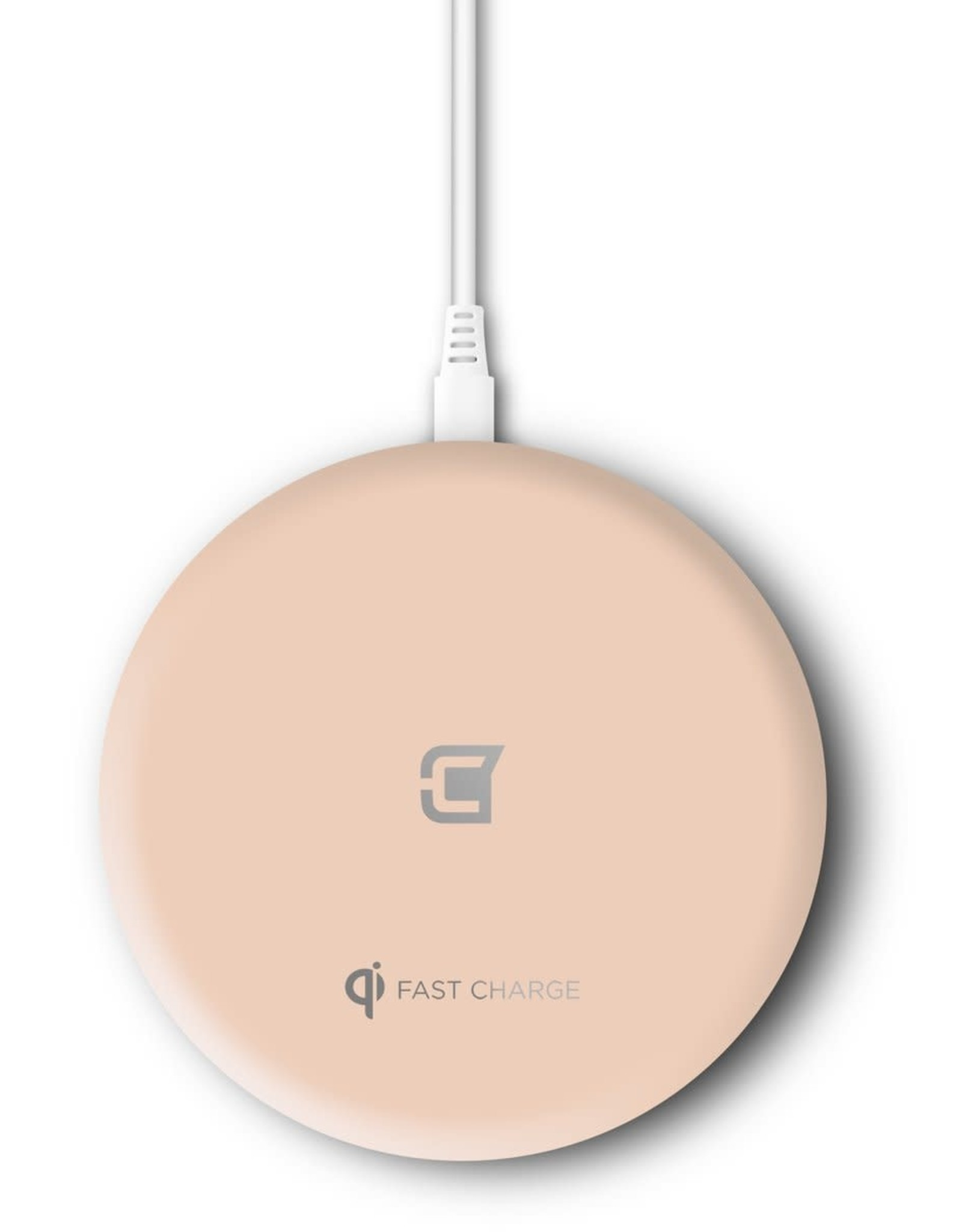 Caseco Caseco Nitro II 10W Fast Wireless Charger For Android & IOS Rose Gold C0710-05
