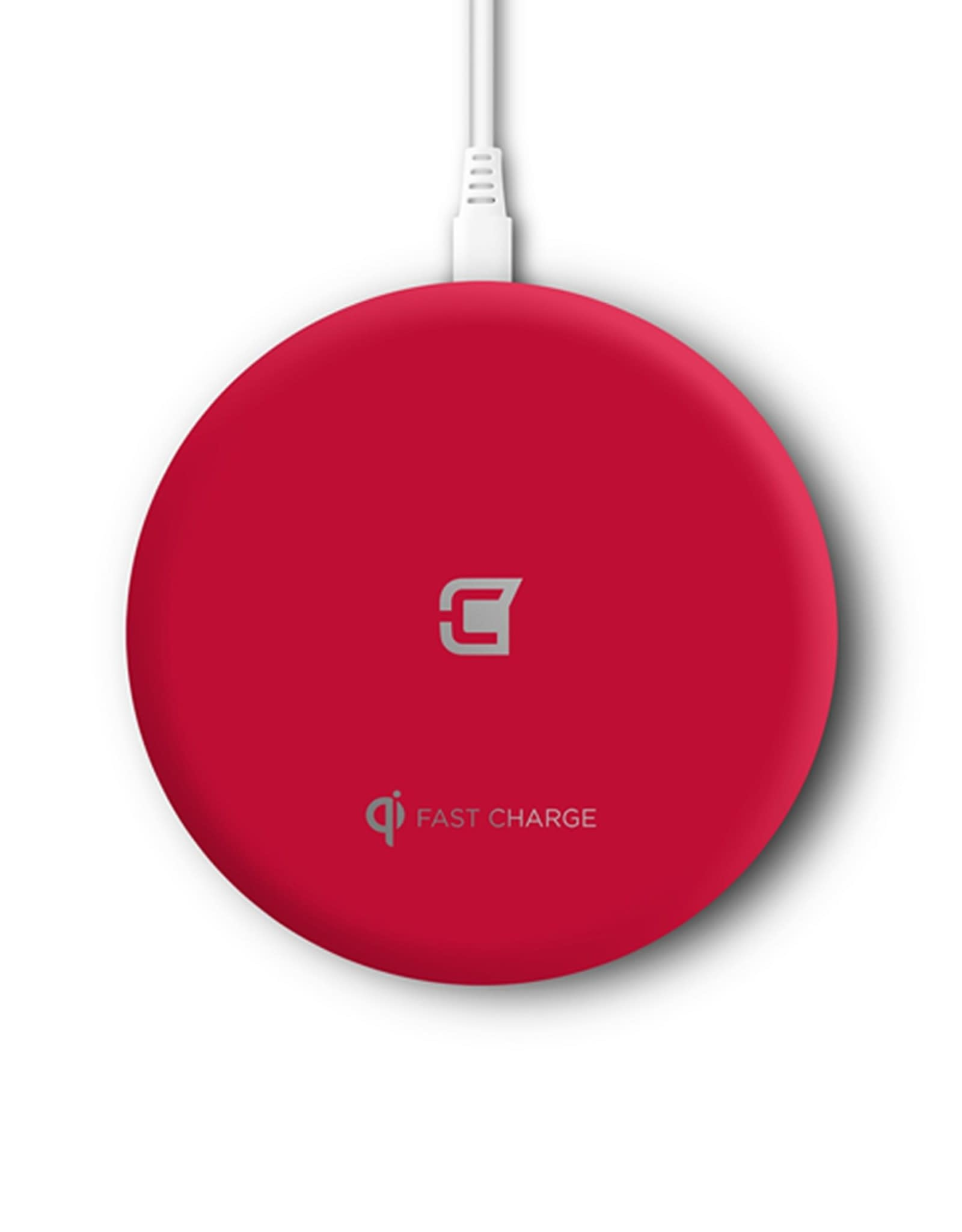 Caseco Caseco Nitro II 10W Fast Wireless Charger For Android & IOS Apple Red  C0710-03