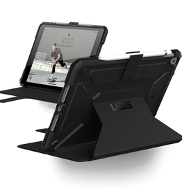 UAG UAG | Metropolis Rugged Case Black for iPad 10.2 2019 120-2559