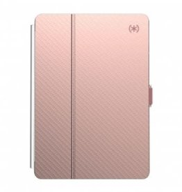 "Speck Speck | IPAD 10.2"" BALANCE FOLIO CLEAR (ROSE GOLD WOVEN METALLIC/CLEAR) 133537-8640"