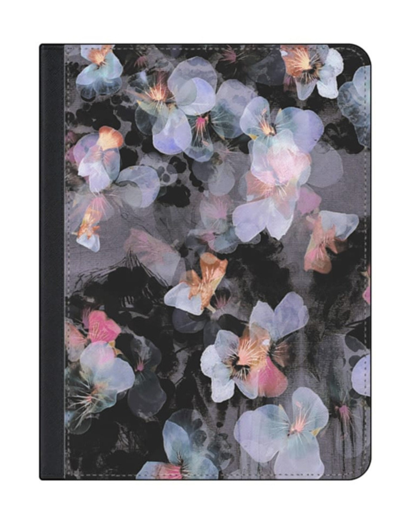 Casetify Casetify - Folio Case Watercolor Painted Delicate Pancy for iPad 10.2 2019 120-2660