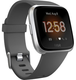 Fitbit Fitbit | Versa Lite - Charcoal with Silver Aluminum | FB415SRGYFRCJK