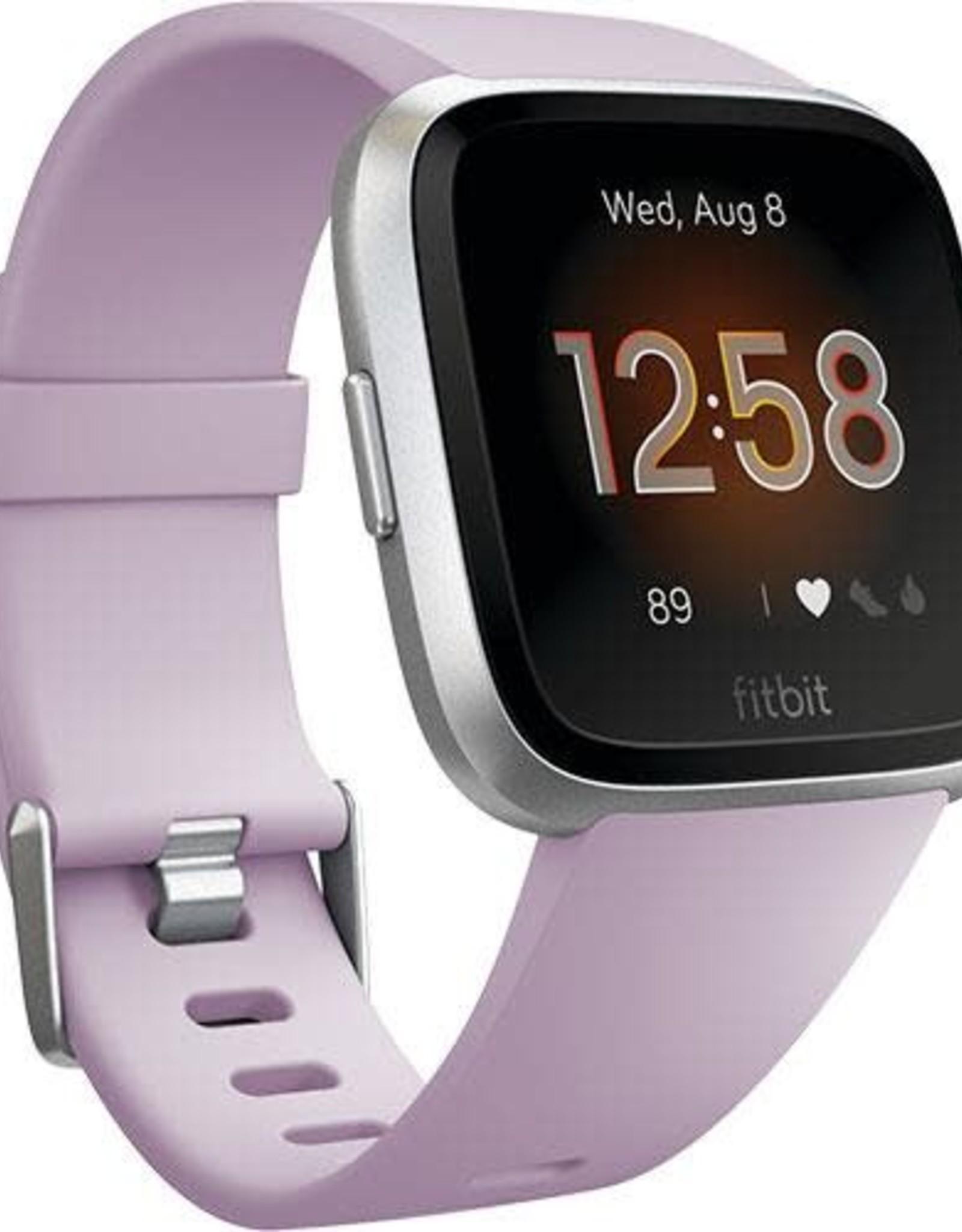 Fitbit /// Fitbit | Versa Lite Edition Lilac with Silver Aluminum | FB415SRLVFRCJK