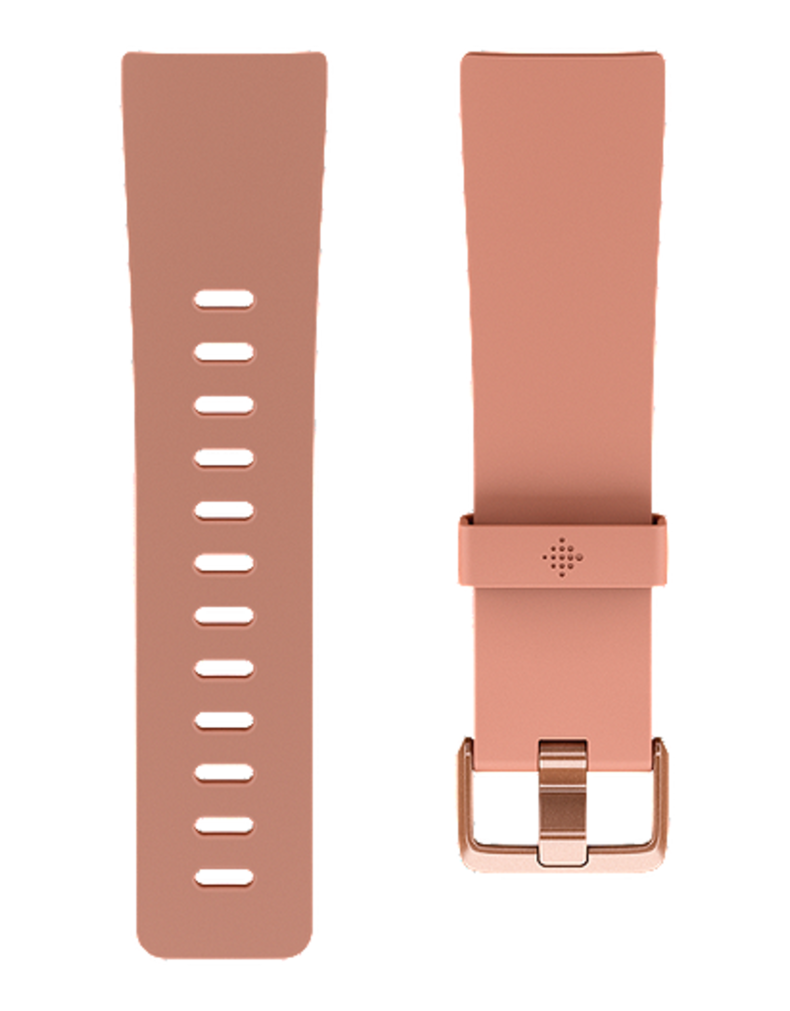 Fitbit /// Fitbit   Versa, Classic Accessory Band, Peach, Large  