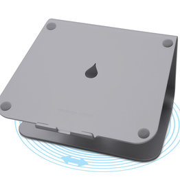 Rain Design mStand 360 Laptop Stand w/ Swivel Base  Space Grey 10074