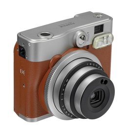 Instax Fujifilm | Instax Mini 90 NEO CLASSIC Instant Camera W/Out Film - Brown