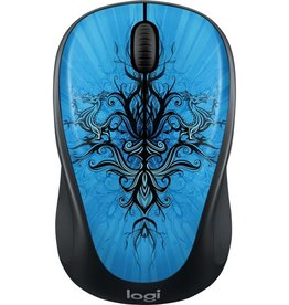 Logitech Logitech Wireless Mouse M325 Blu Trance 910-005338