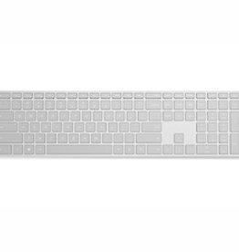 Microsoft Microsoft Modern Bluetooth Keyboard with Fingerprint ID - Grey - English EKZ-00002