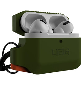 UAG UAG - Silicone Case Olive Drab/Orange for Apple AirPods Pro 120-2735