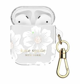 Kate Spade | Flexible Case Hollyhock Floral Clear for AirPods 120-2617