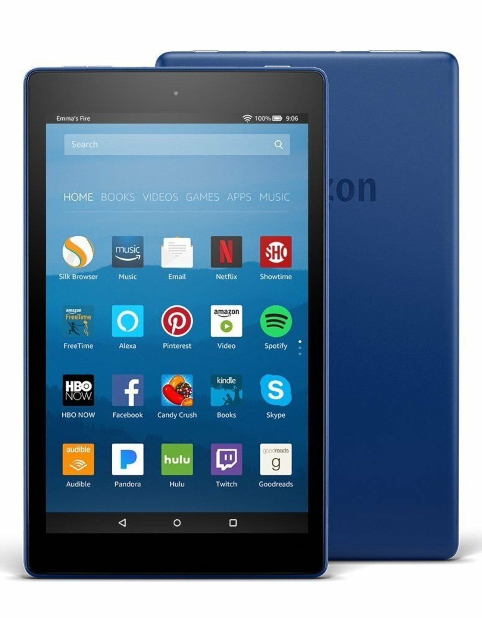 Amazon 8'' Fire Tablet - 16 GB - Blue KDL-53-014987