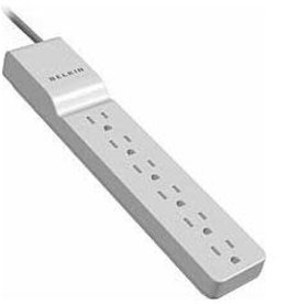 Belkin Belkin 6 Outlet Cord 4' Cord Surge Protector BE106000-04