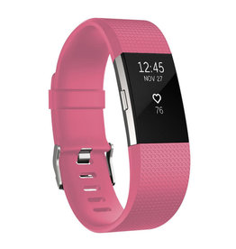 StrapsCo | Silicone Fitbit Charge 2 Barbie/ Bright Pink Small 80-110mm fb.r2.13a.m FOR AMANDA