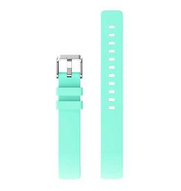 StrapsCo | Rubber Strap Fitbit Insprire & Insprire HR Mint Green Small fb.r42.11.m