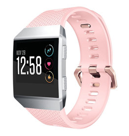 StrapsCo | RUBBER STRAP W/ ROSE GOLD BUCKLE FOR FITBIT IONIC FB.R18.1.RG