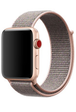 StrapsCo   Nylon Band For iWatch 42mm/44mm Pink/Grey A.NY3.13.7.42