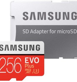 Samsung Samsung Evo Plus 256GB 100MB/s microSD Memory Card MB-MC256GA/CA
