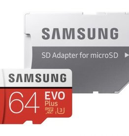 Samsung Samsung EVO Plus 64GB MicroSD Card with Adapter MB-MC64GA/CA