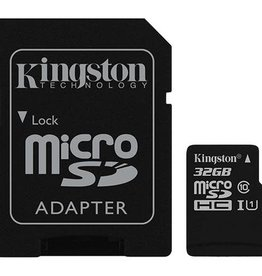 Kingston Kingston | 32GB microSDHC Canvas Select Plus Class 10 Flash Memory Card SDCS2 150-1507