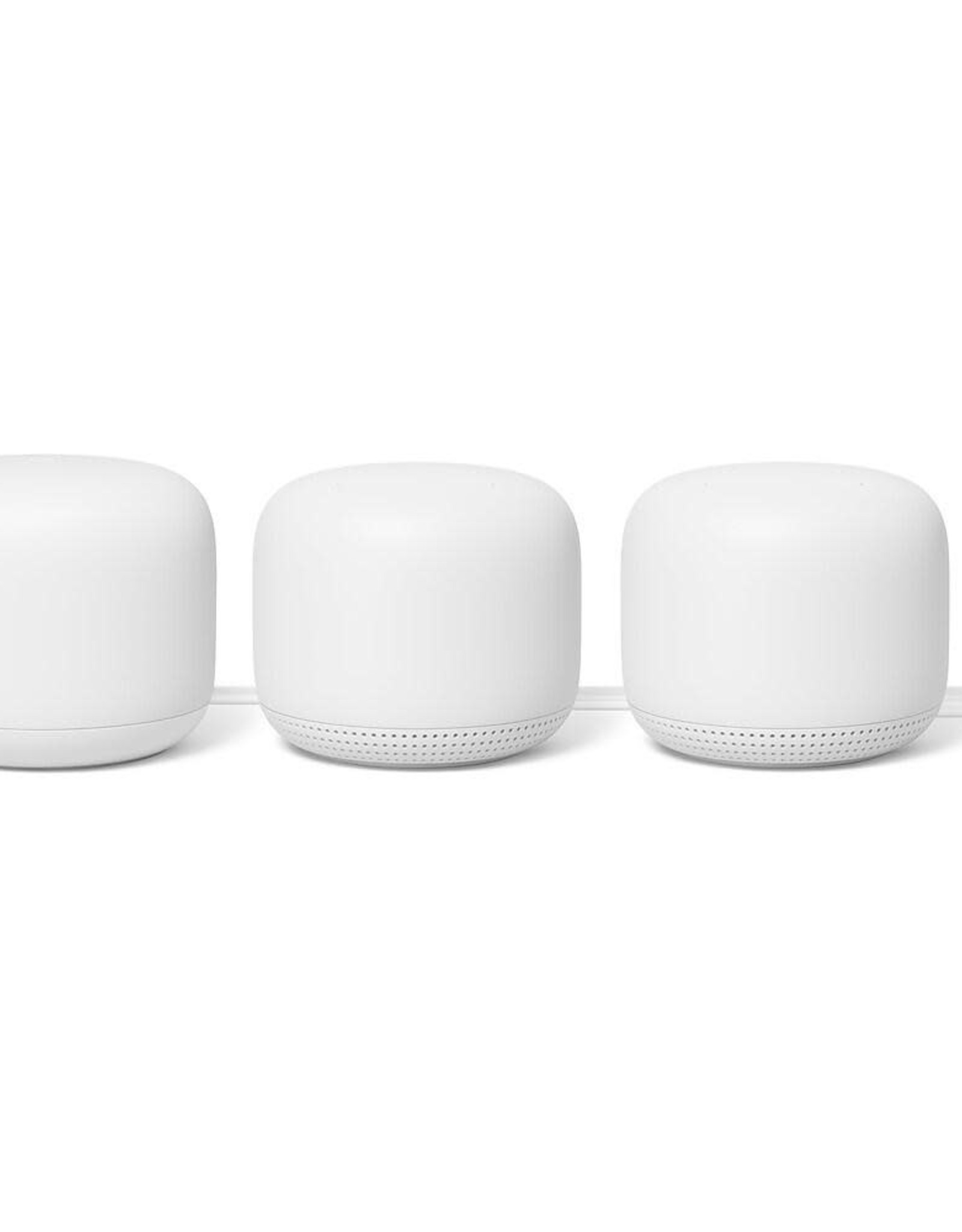 Google Google Nest Wifi Router with 2 Points - 3 Pack GA00823-CA