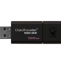 Kingston Kingston | 128GB USB 3.0 DataTraveler 100 G3 DT100G3/128GBCR