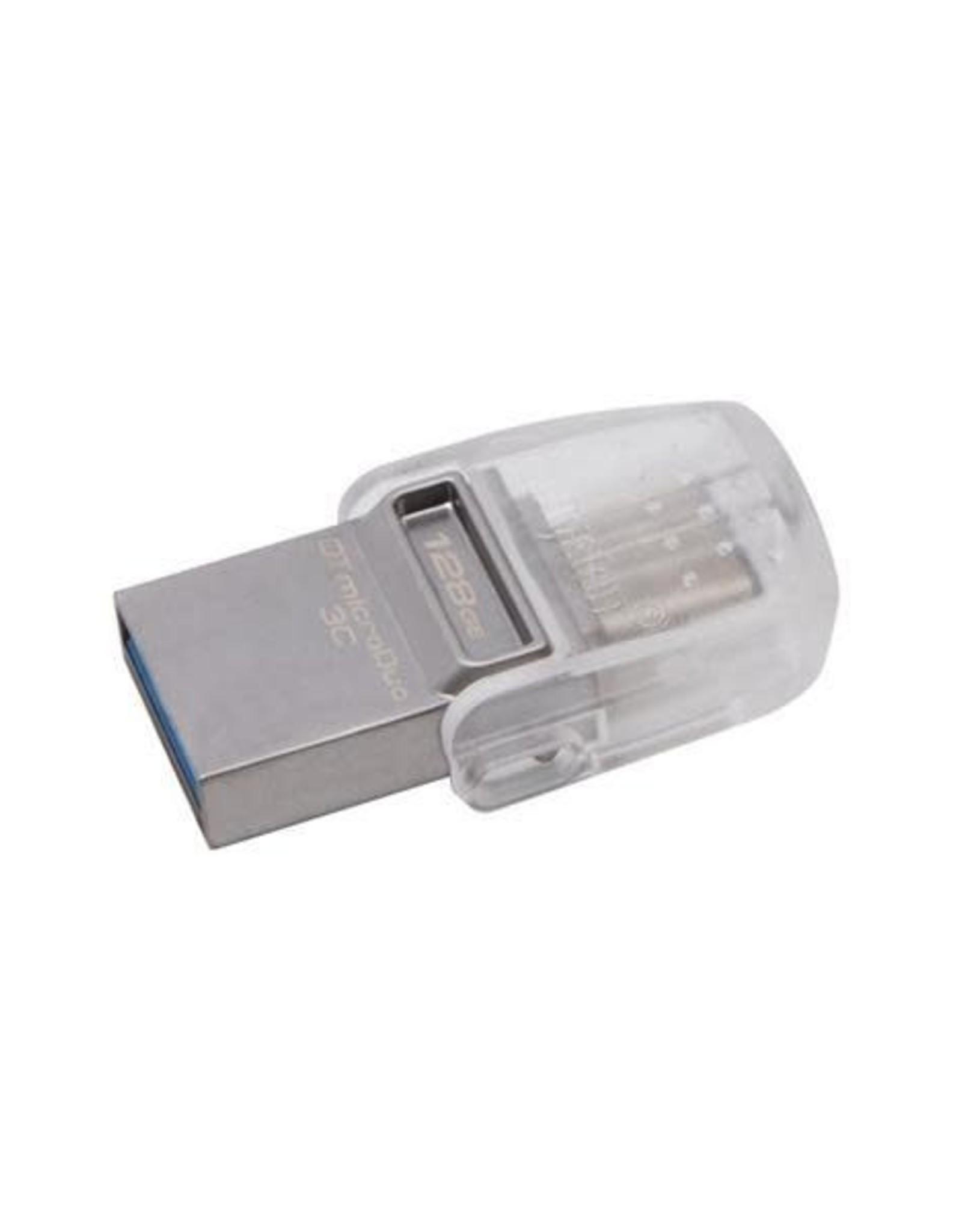 Kingston Kingston   128GB DT MICRODUO USB C DTDUO3C/128GBCR