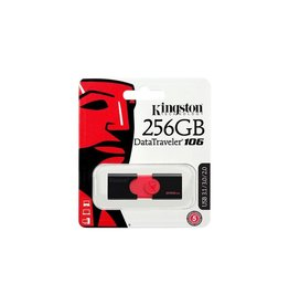 Kingston Kingston 256GB USB 3.0 DataTraveler 106 130MB/s read DT106/256GBCR