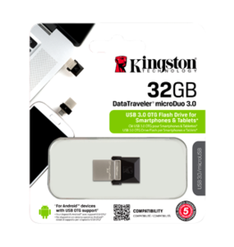 Kingston Kingston - 32GB 3.0 MicroDuo MicroUSB Data Traveler Memory Card 150-1481
