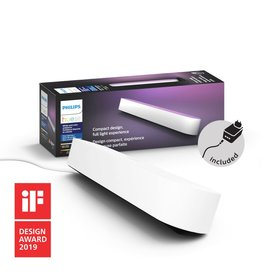 Philips Hue PHILIPSHUEPLAY WHITE AND COLOR AMBIANCE LIGHT BAR SINGLE PACK WHITE