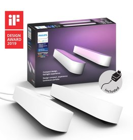 Philips Hue PHILIPSHUEPLAY WHITE AND COLOR AMBIANCE LIGHT BAR DOUBLE PACK WHITE