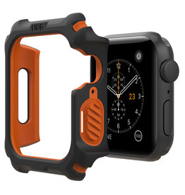 UAG UAG | Apple Watch 44mm Black/Orange Case 15-06484