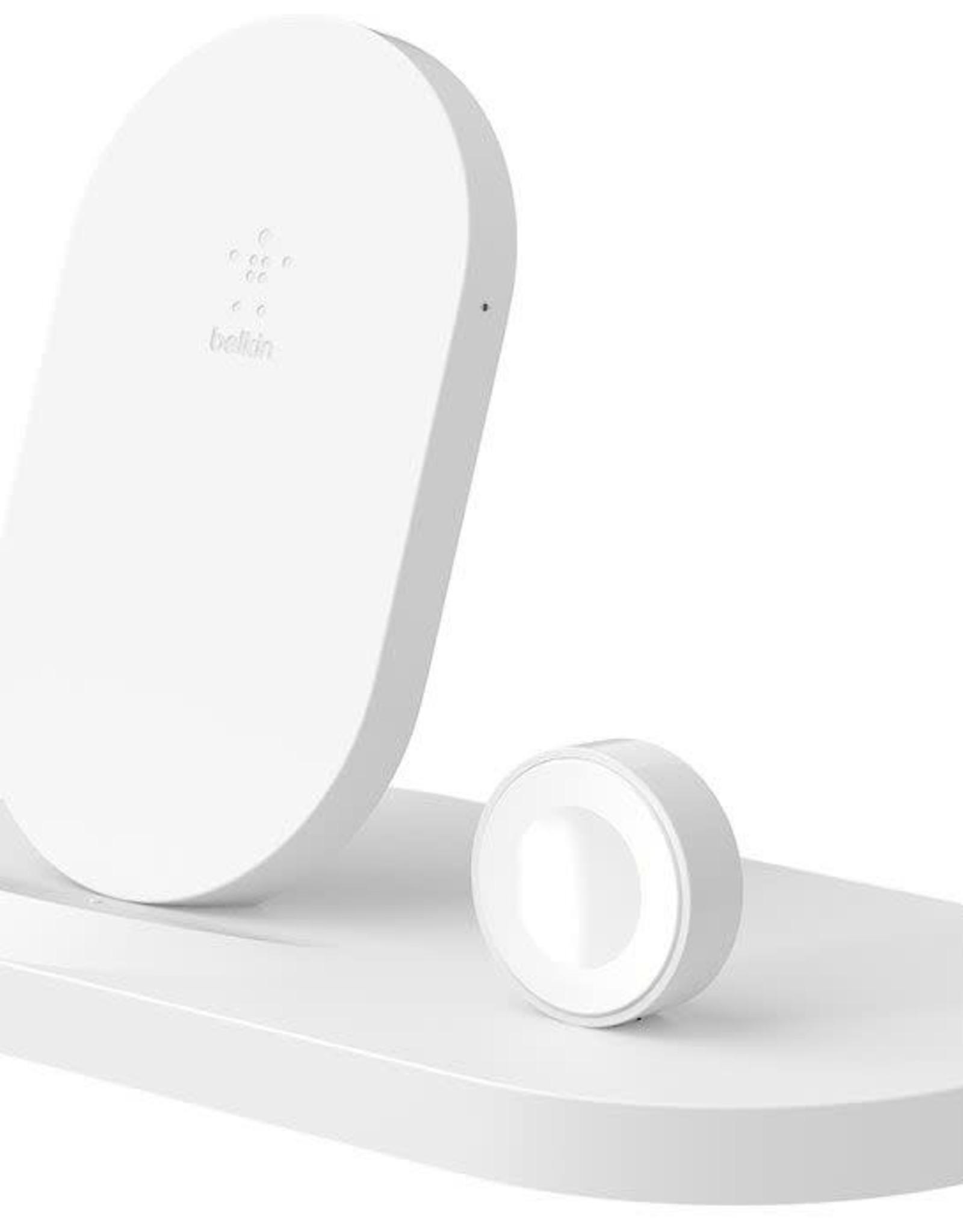 Belkin Belkin   7.5W Charge Dock for Apple Watch iPhone White F8J235TTWHT