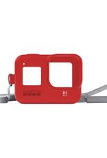 GoPro GoPro | SLEEVE + LANYARD (HERO8 BLACK) FIRECRACKER RED  GP-AJSST-008