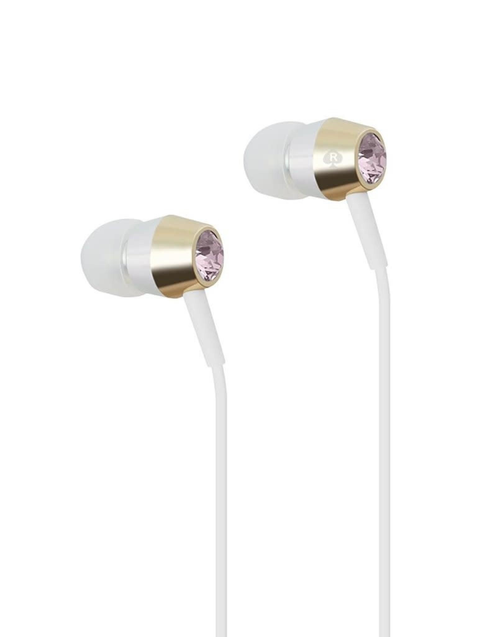 /// Kate Spade New York | Earbuds Crystal Rose Gold | KSNYEB-CRGS