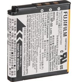 Instax Fujifilm | NP-50 Lithium ION Rechargeable Battery