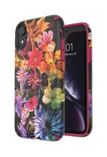 Speck Speck | iPhone XR PRESIDIO INKED (DIGITAL FLORAL/CERISE RED) 117075-7557