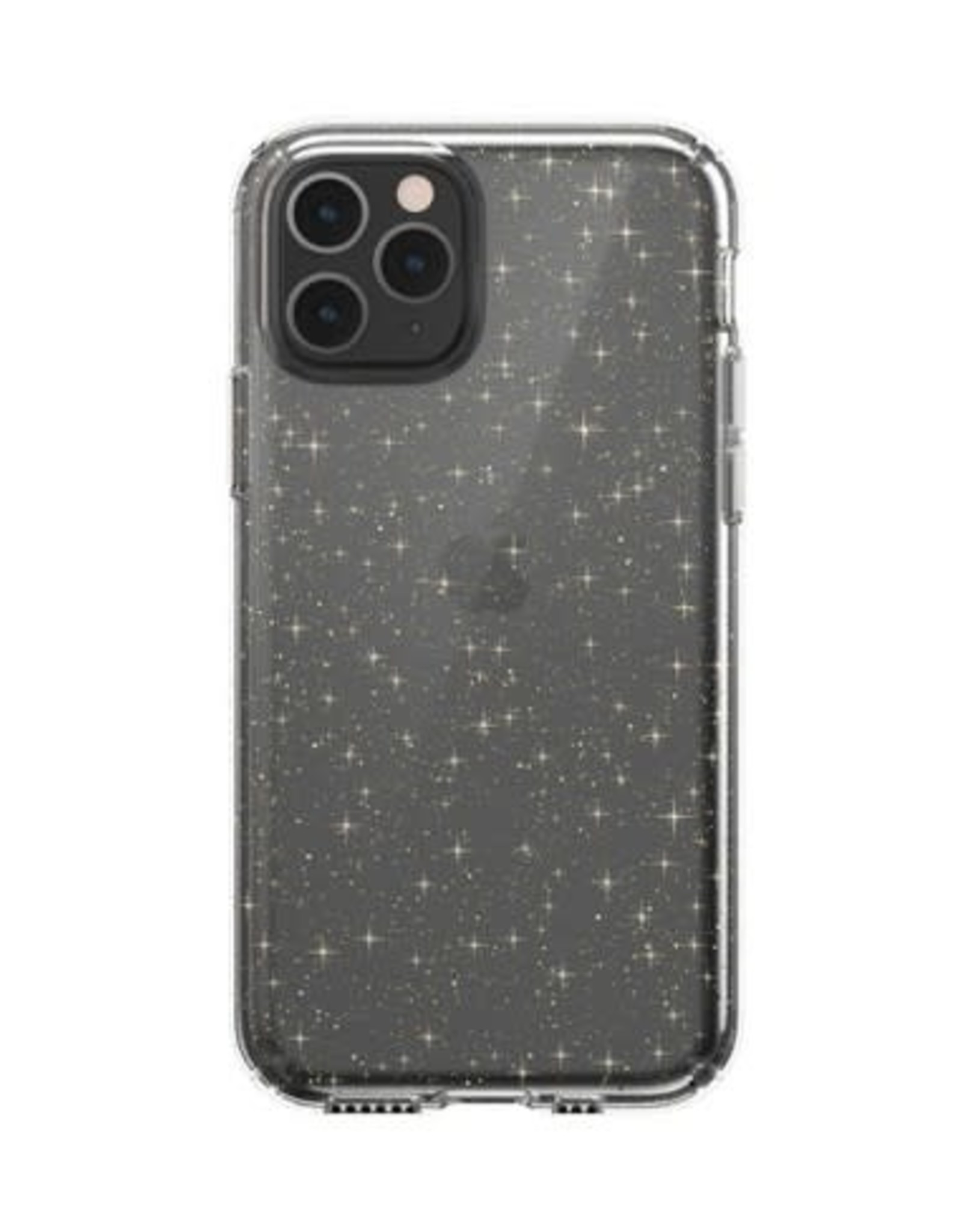 Speck Speck | iPhone 11 Pro PRESIDIO CLEAR + GLITTER (CLEAR WITH GOLD GLITTER/CLEAR) 129893-5636