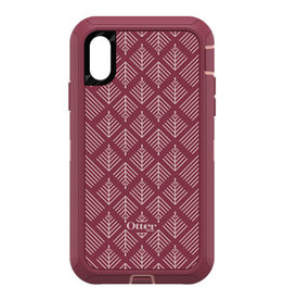 Otterbox OtterBox |Defender Series Screenless Edition Case Happa (Silver Pink/Red) for iPhone XR 120-0770