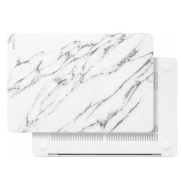 Laut LAUT HUEX ELEMENT for MacBook Air Retaina 13in 2018  Marble White LAUT_13MA18_HXE_MW