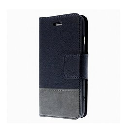 Caseco Caseco   Broadway 2-in-1 RFID Shield Folio Case - iPhone SE Blue CC-BD-iPSE-BL