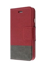 Caseco Caseco | Broadway 2-in-1 RFID Shield Folio Case - iPhone SE Red CC-BD-iPSE-RD
